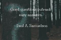 Paul Samuelson - 1