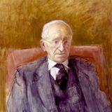 Friedrich Hayek by Rodrigo Moynihan, National Portrait Gallery, London