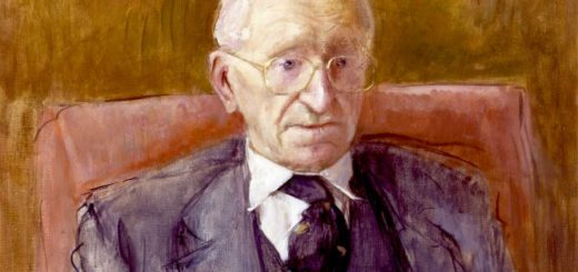 Friedrich Hayek by Rodrigo Moynihan, National Portrait Gallery, London