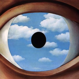 The False Mirror | René Magritte | 1928