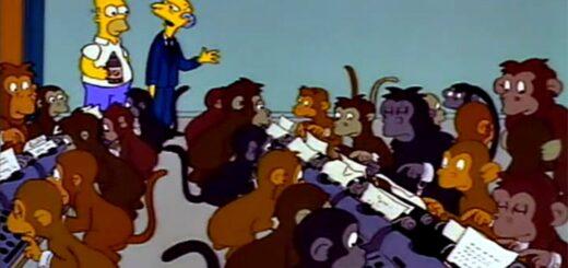 Infinite Monkey Theorem - Simpsons